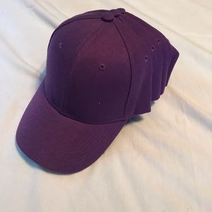 Accessories - Lot of 5 New Purple Ball Caps  for monogramming